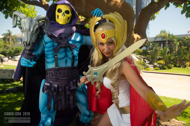 She Ra and Skeletor