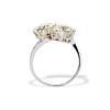 5.15ctw Old European Cut Diamond Toi et Moi Ring 18