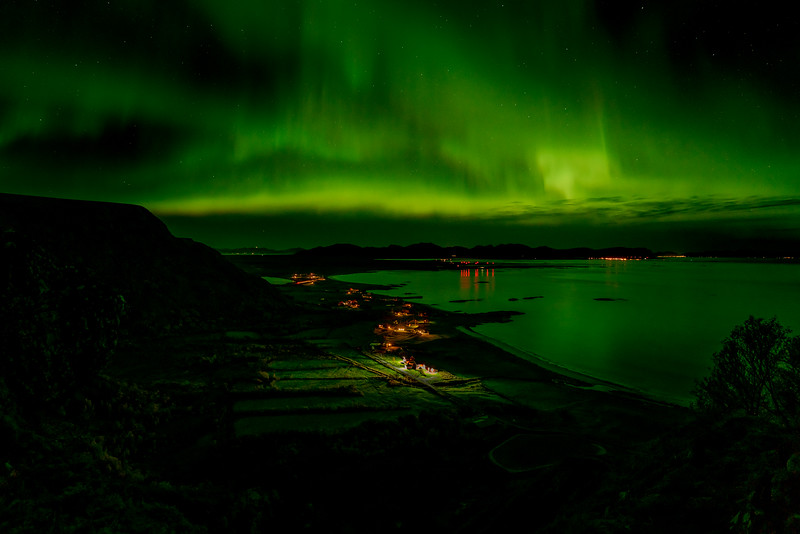 Nordlys over Stave