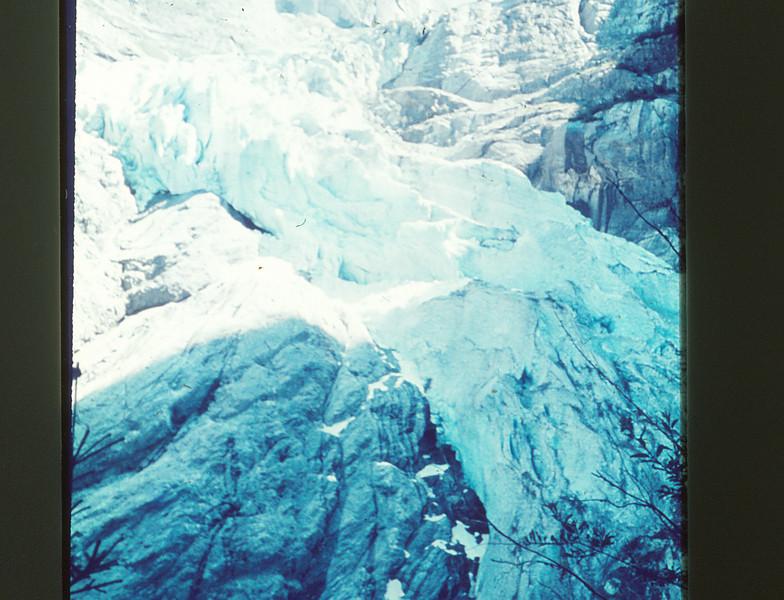 Closer view of glacier