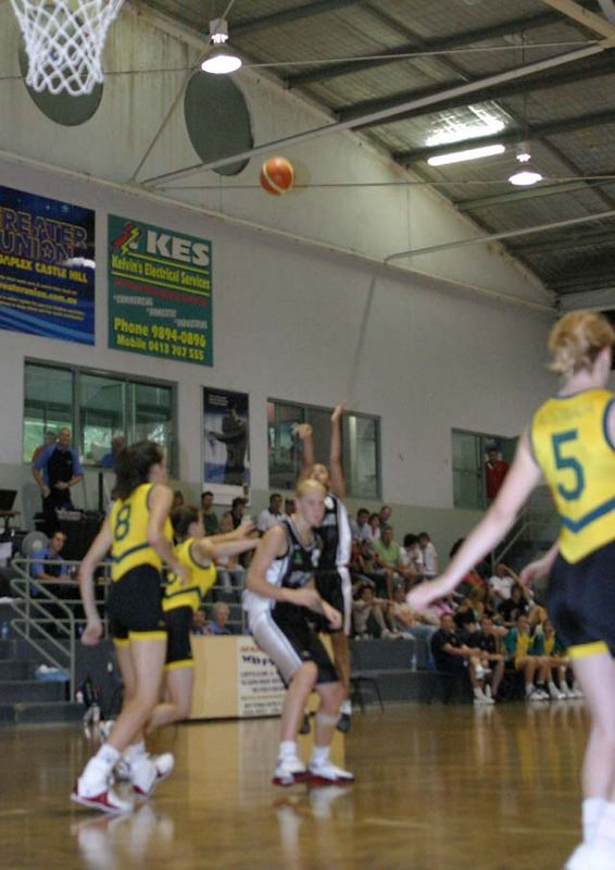 Youth Olympics-Syd 2005 Australia Vs New Zealand Women