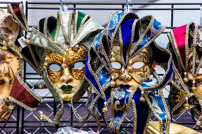 Masks At Yonge & Gould Streets