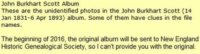 John Burkhart Scott Album