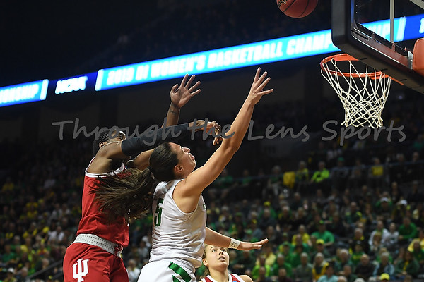 Oregon vs. Indiana Women's College Basketball