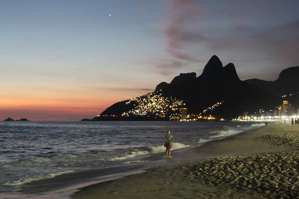 Ipanema beach, Rio de Janeiro - December, 2013
