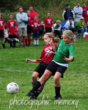 Leavenworth vs. Wenatchee  Girls 11U Soccer
