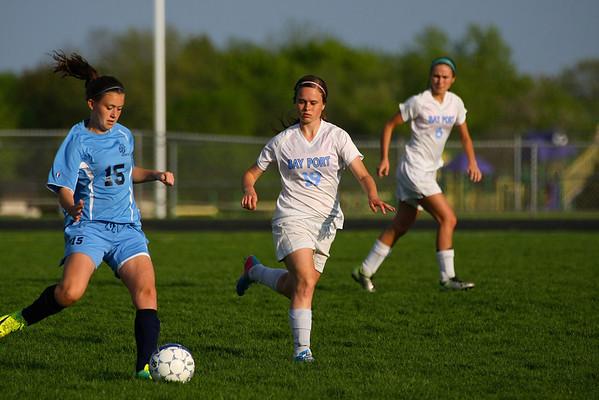 Bay Port Girls Varsity Soccer 5-21-13