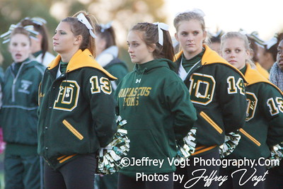 10-12-2012 Damascus HS Cheerleading & Poms, Photos by Jeffrey Vogt Photography