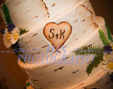 Cvancara Wedding - Cake and Food