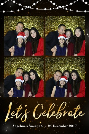 Angeline's Sweet 16 - 24th Dec 2017