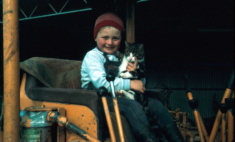 1973-5 (11) Andrew 3 yrs 9 mths with cat on bulldozer.jpg