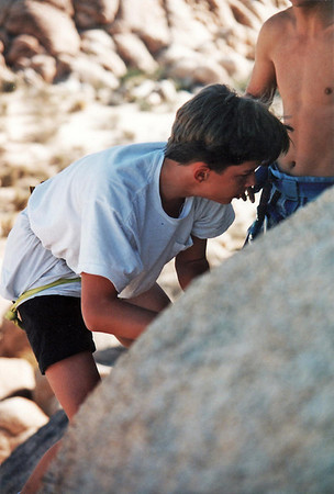 1991 - Rockclimbing @ Calico