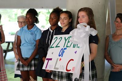 7th Grade Column Dedication 2019