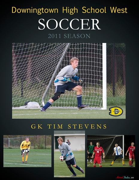 2011 DWHS Senior Soccer Posters