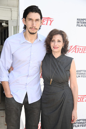 Adam Driver and Lena Todd attend the Breakthrough Performers Panel discussion at the Presbyterian Church in East Hampton. photo credit: Rob Rich/SocietyAllure.com