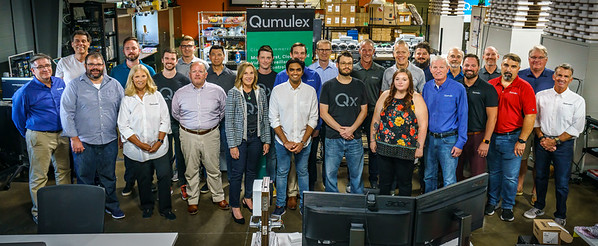 Qumulex team photo and Investor Social