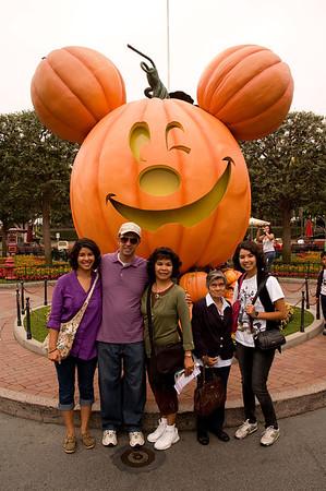 Lola  at Disneyland