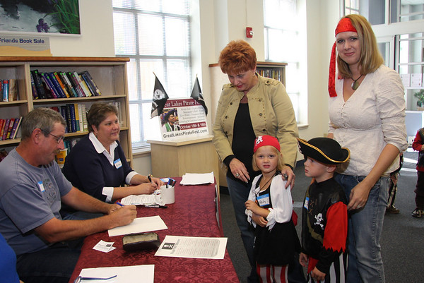 Vermilion Public Library has a Pirate Party, October 16, 2010