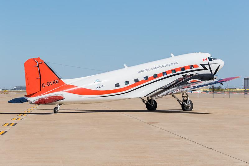 -(Airline) Kenn Borek Air -(Aircraft) Basler BT-67 -(Aircraft Registration) C-GVKB -(Flight Route) Calgary International Airport, Canada to Rick Husband Amarillo International Airport, TX