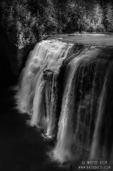 Middle Falls. Photography by Wayne Heim