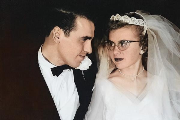 Mom & Dad's Wedding in Color