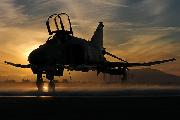 "USAF F-4 Phantom II Phinal Phlight... The ""Rock Star"" Retires"