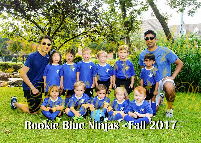 20170916 - #G4 Rookie Blue Ninjas