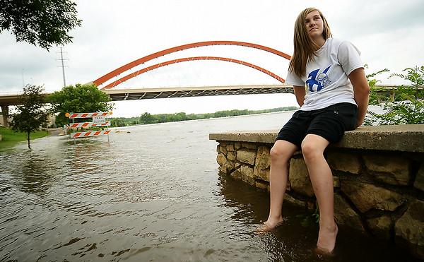 Flooding in region AUTEY