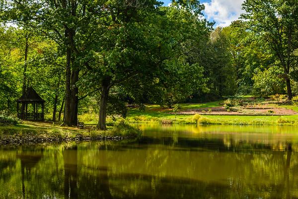 Burnetts visit Holden Arboretum-September 2017