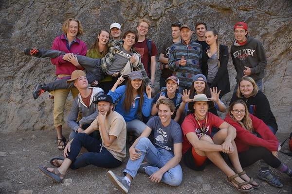 HIke Doughnut Falls & Climb