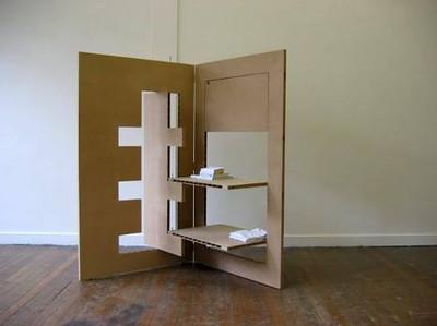 Louwrien Kaptein y Menno Bolt son los diseñadores de esta colección de muebles plegables