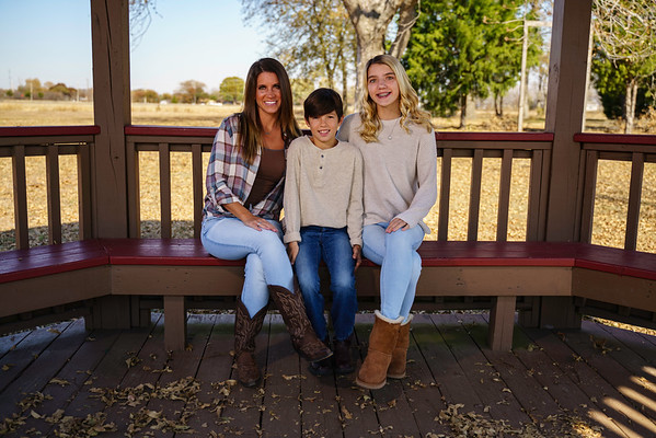 Parker, TX - Jordan's Family Fall Shoot - Nov 2019