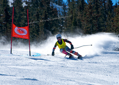 3-13-14 FIS Jr. Championships GS at Loveland - Run #2