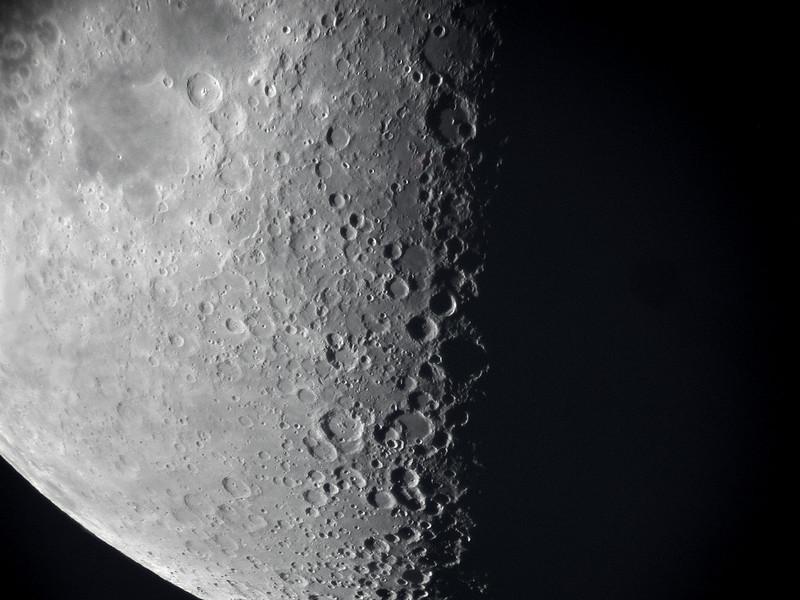 Lunar X - 10 inch telescope