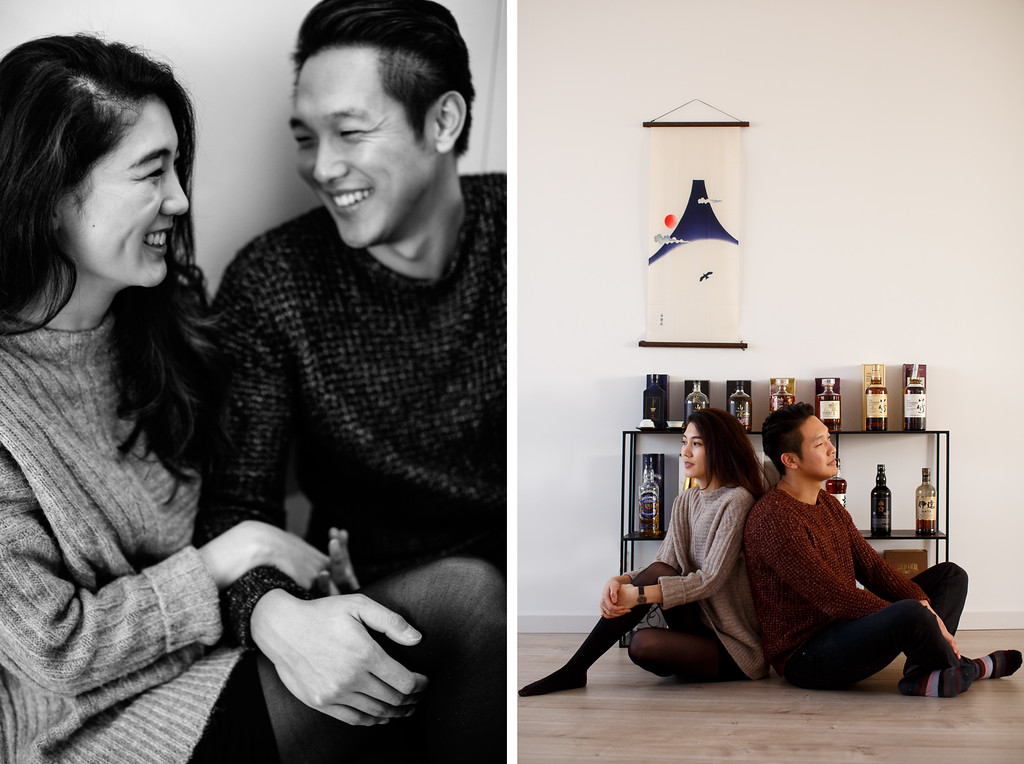 loveshoot in huis