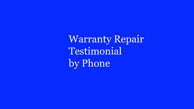 Client Phone Reviews