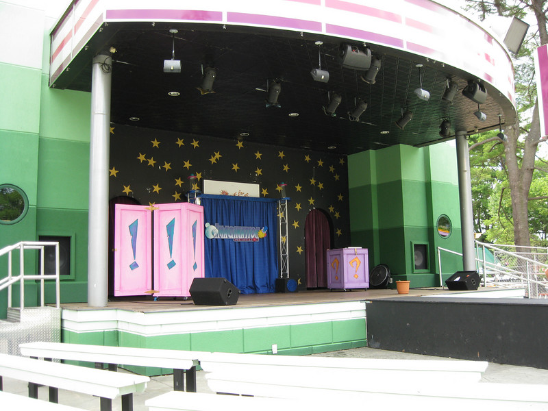 Midway Stage, prepared for the Imagination Generation show.