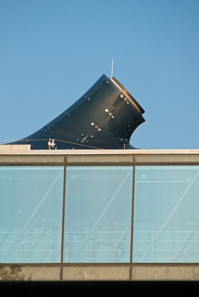 Viewing Platform at Kunsthaus Museum, Graz, Austria