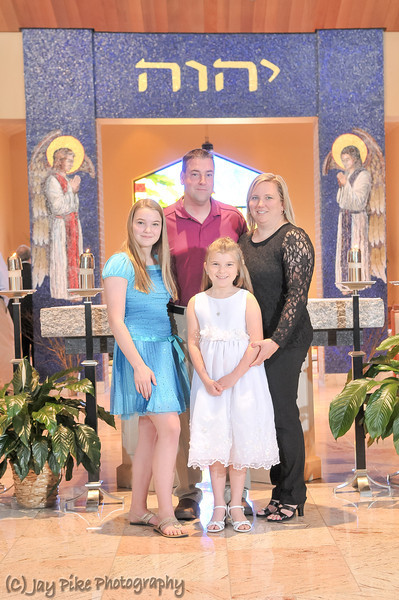 2013 - First Communion - Family Portraits
