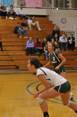BABSON VOLLEYBALL OCT 27, 2009