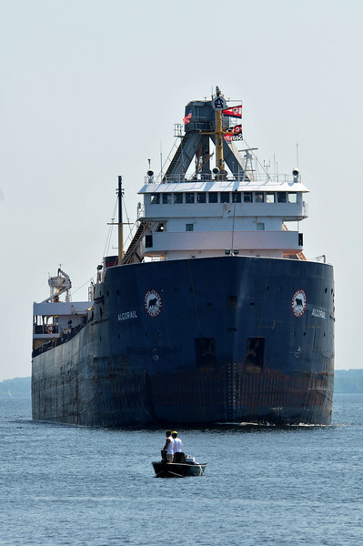 Freighter looms large