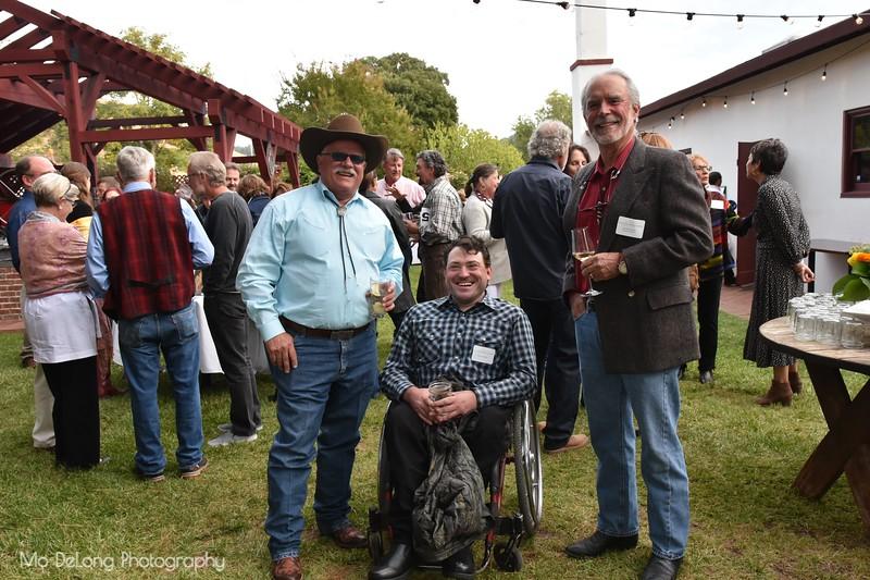 Dan Steadman, Enock Glidden and David Lambert