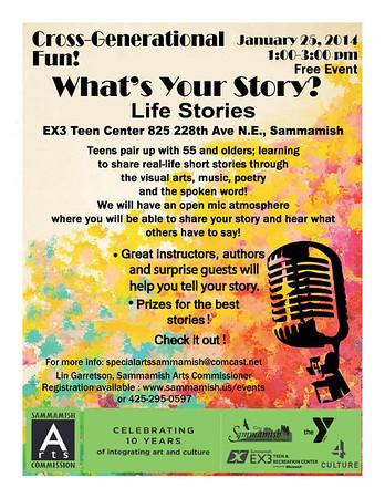 Special Arts Sammamish - Life Stories