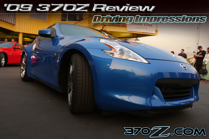 Nissan 370z review; driving impressions