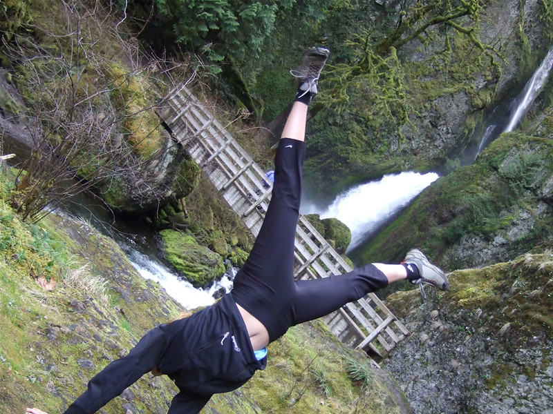Tracy McFarlane - Wahclella Falls - The Gorge, Oregon