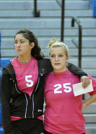 LAMPETER-STRASBURG 2010 GIRLS JV/V VOLLEYBALL vs ELCO (10/5/10 - PINK GAME)