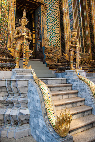 At The Grand Palace.