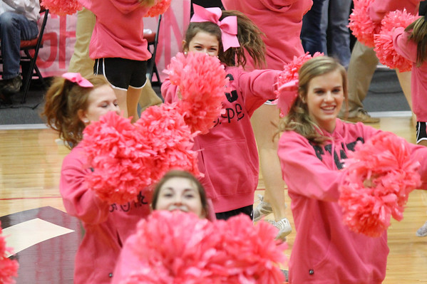 Pink Out Pep Rally 100413