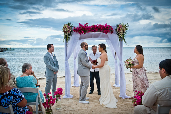 Connie & Trent - Wedding - Belize - 17th of June 2017