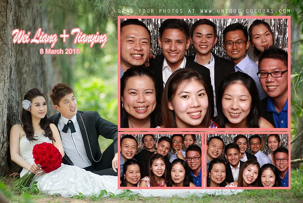 Wei Liang + Tianying Photo Booth Album